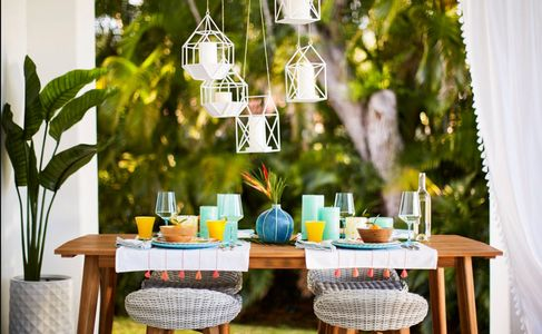 Prop styling by Beth Wickwire for HomeGoods.