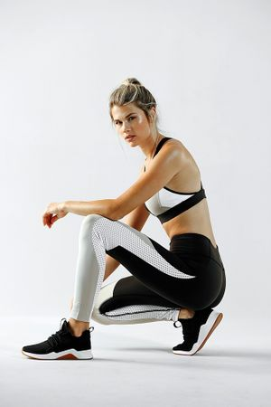 Wardrobe styling by Taylor Greeley for Reebok.  Makeup &  hair by Kacie Corbelle.