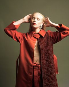 Wardrobe styling by Taylor Greeley, Makeup and hair by Alicia Dane for L'Officiel Baltics. Photography by Kolby Knight.