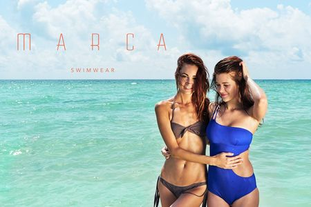 Makeup and Hair by Kristy Strate for Marca Swimwear.  Photography by Lorenzo De Guia.
