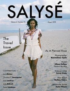 Makeup by Kristy Strate for Salyse Magazine.  Photography by MAXIMILANO AYALA