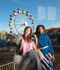 Hair by Michael Albor @The Loft Salon for the Globe Magazine