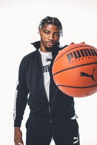 Mens grooming by Lori Greene for Marcus Smart and Puma.