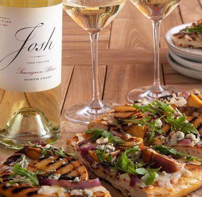 Monica Mariano styles food for Josh Wine