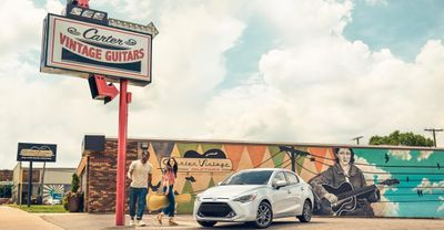 Wardrobe and props  styled by Daria Maneche for Toyota-Yaris.  Photography by Jeff Stockwell.