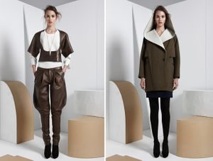 Wardrobe styling by Sarah Benge for Maiyet