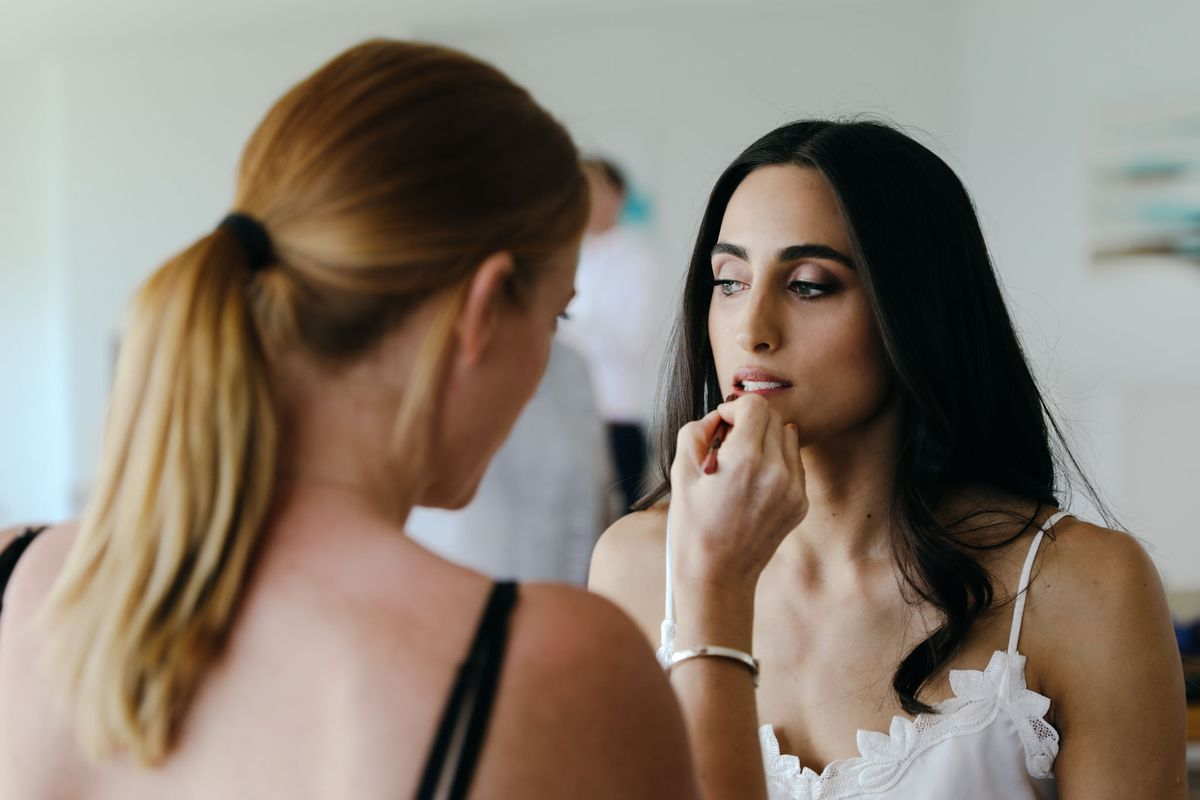 bridal makeup noosa Nicola Johnson