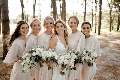 Bridesmaids hair & makeup
