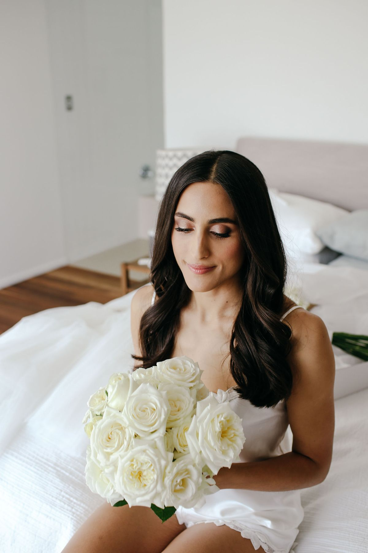 Bridal hair & makeup Sydney, real bride Kezia