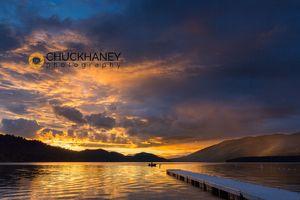 WF Lk Dock Sunset