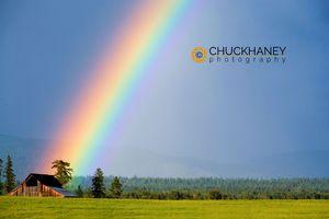 Barn Rainbow