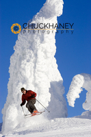 Brian Schott Jumps through the snowghosts