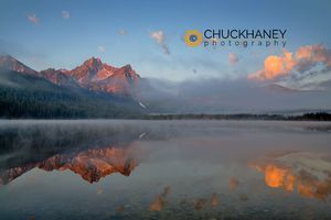 Stanley Lake sunrise