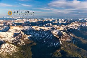 Rocky Mountains Aerial