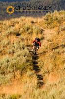 Mtn biking on Nip and Tuck singletrack