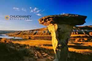 Mushroom rock, Missouri River