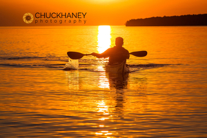 Lake Superior Sunset Paddle