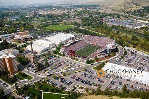 UM Football aerial