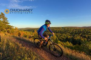 Copper Harbor mountain bike