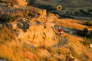Maah Daah Hey Trail in Autumn