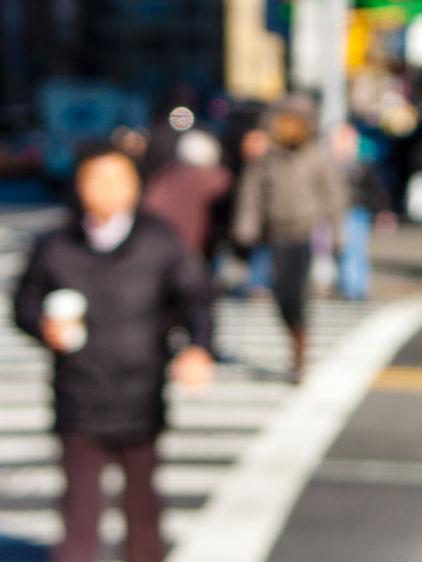 Crosswalk Anonymous 1, New York City