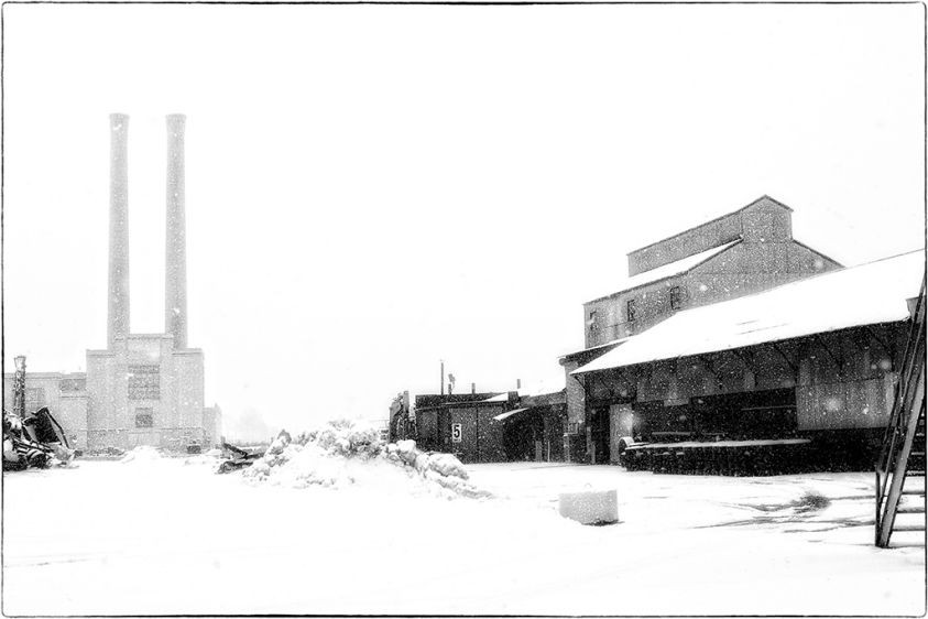 Industrial Snow, Newark, NJ