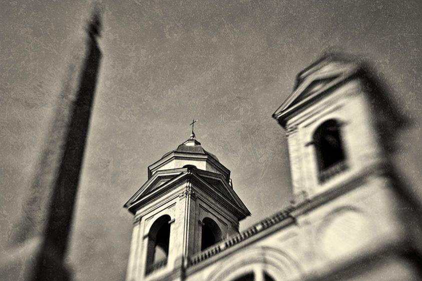 Trinita Del Monte, Rome 2010