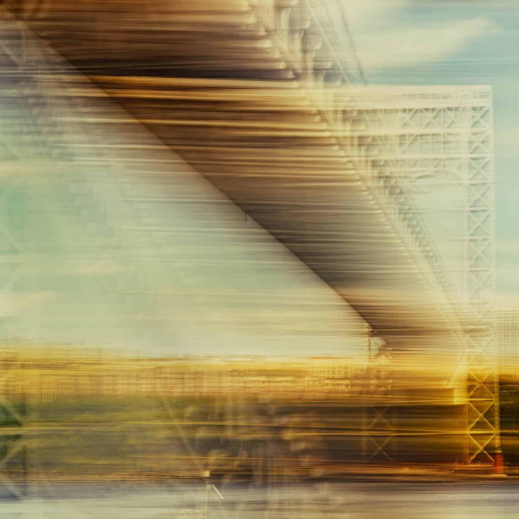 StateOfFlux, Tremors 3, George Washington Bridge, NYC