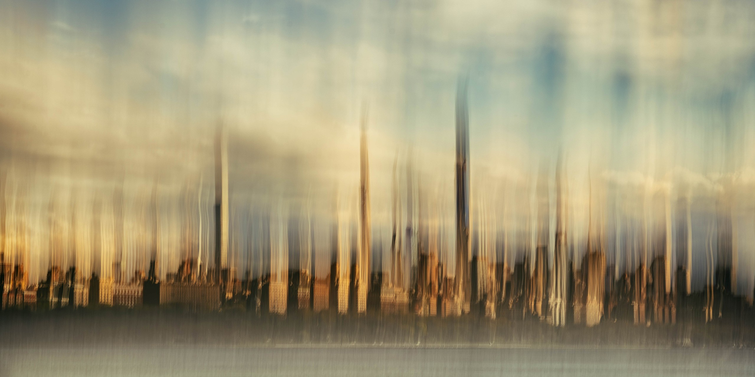 State Of Flux, Midtown, New York City Skyline