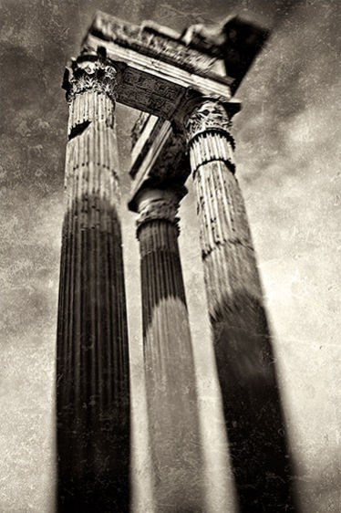 Otavia's Portico I, Rome 2010