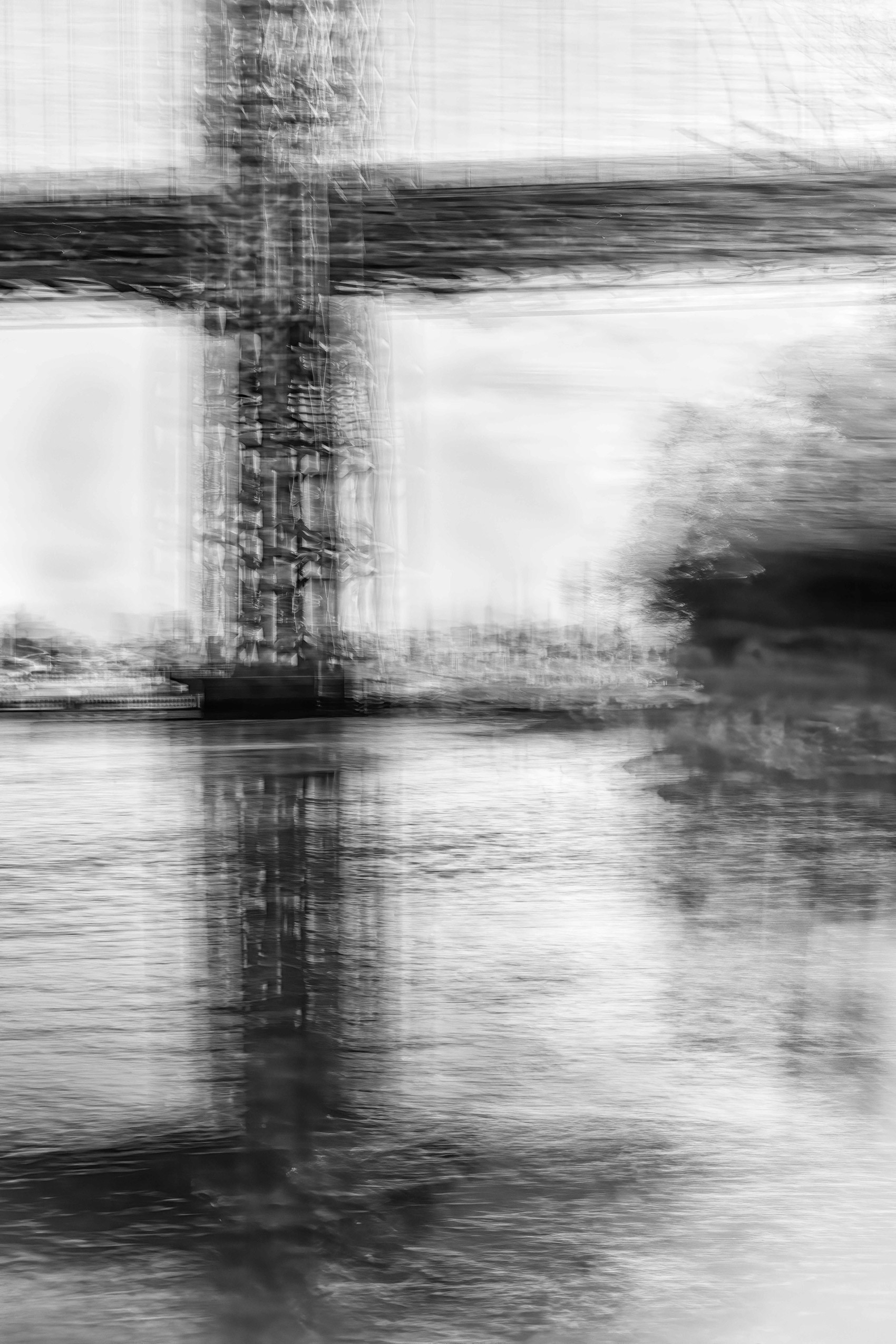 State Of Flux, Tremors 1, George Washington Bridge, NYC