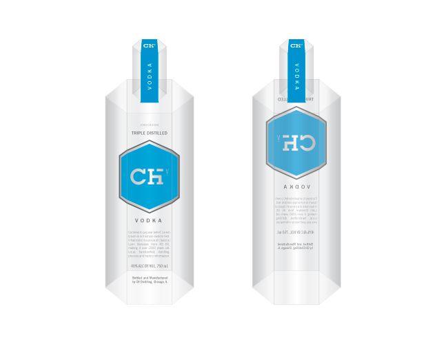 CH Vodka Bottle Concept (Pitch)