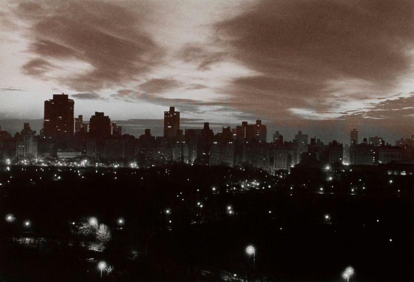 dawn, central park, 1975