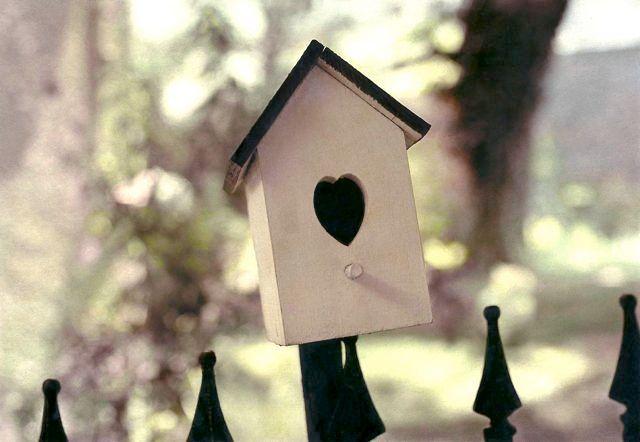 bird house heart, harpers ferry, md, 1999