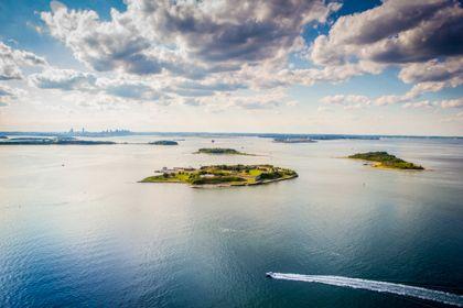Yankee Magazine: Aerial Island Shoot