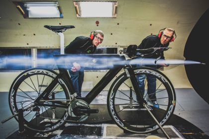Cannondale Bikes: Wind Tunnel Testing