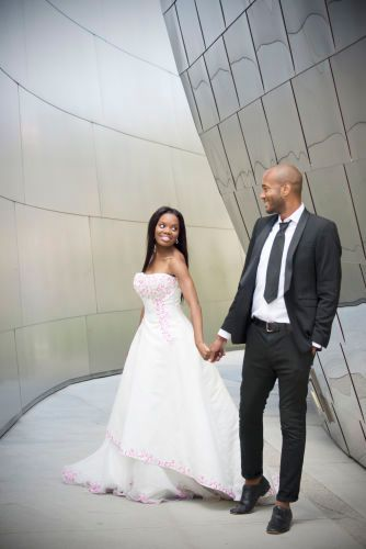 Wedding at Disney Hall