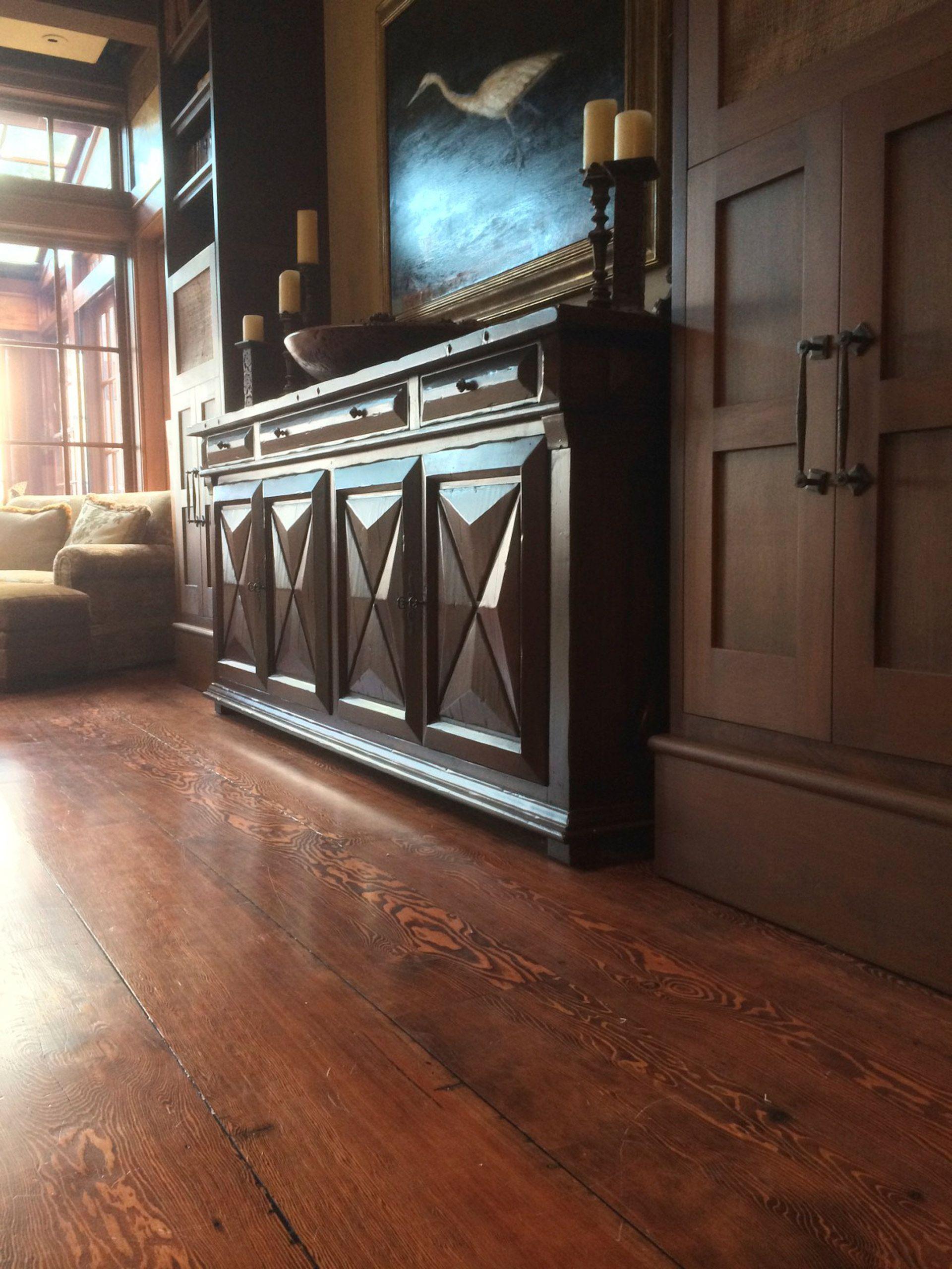 "11"" recycled fir plank flooring"