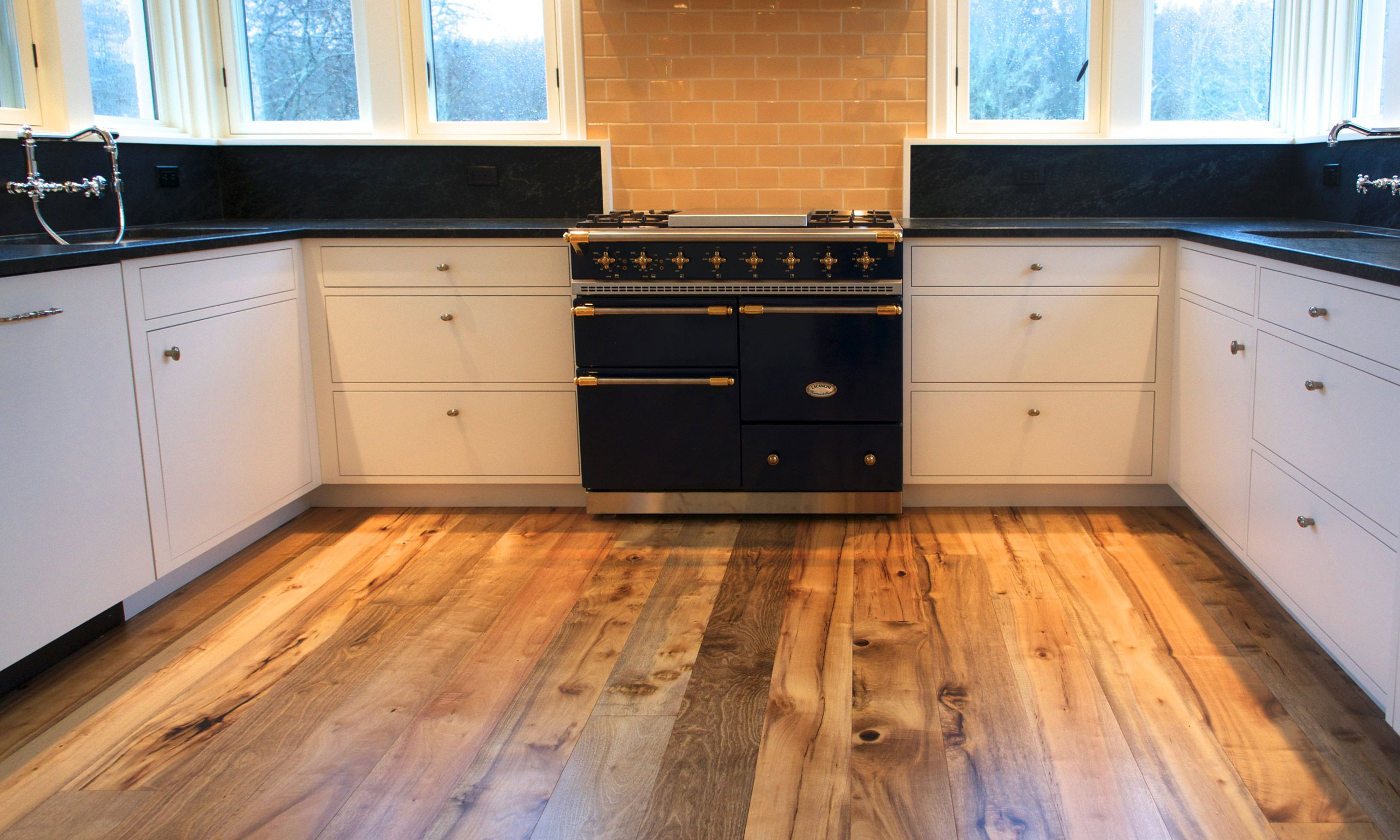 California Bay Laurel flooring