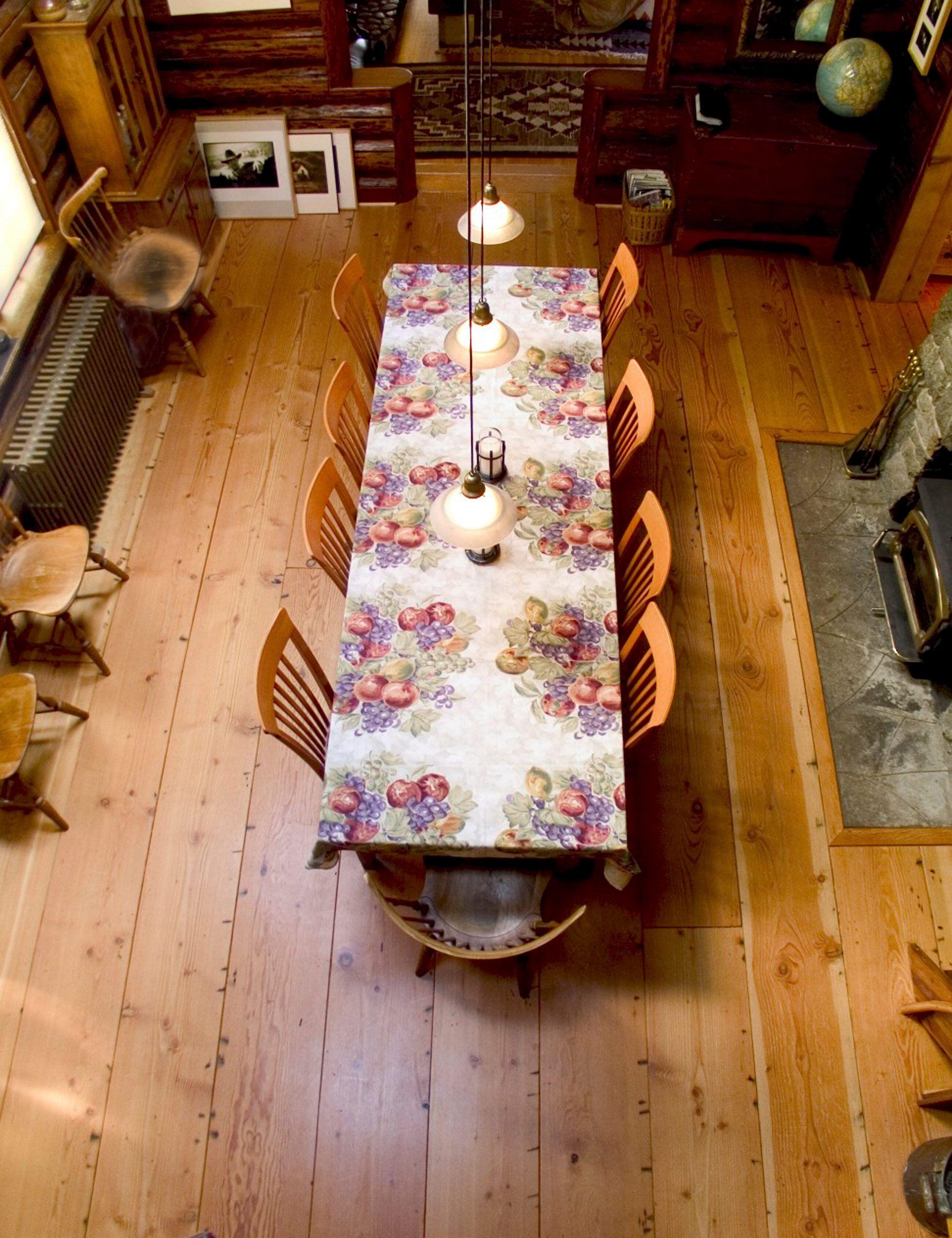 "15"" wide recycled fir plank flooring"