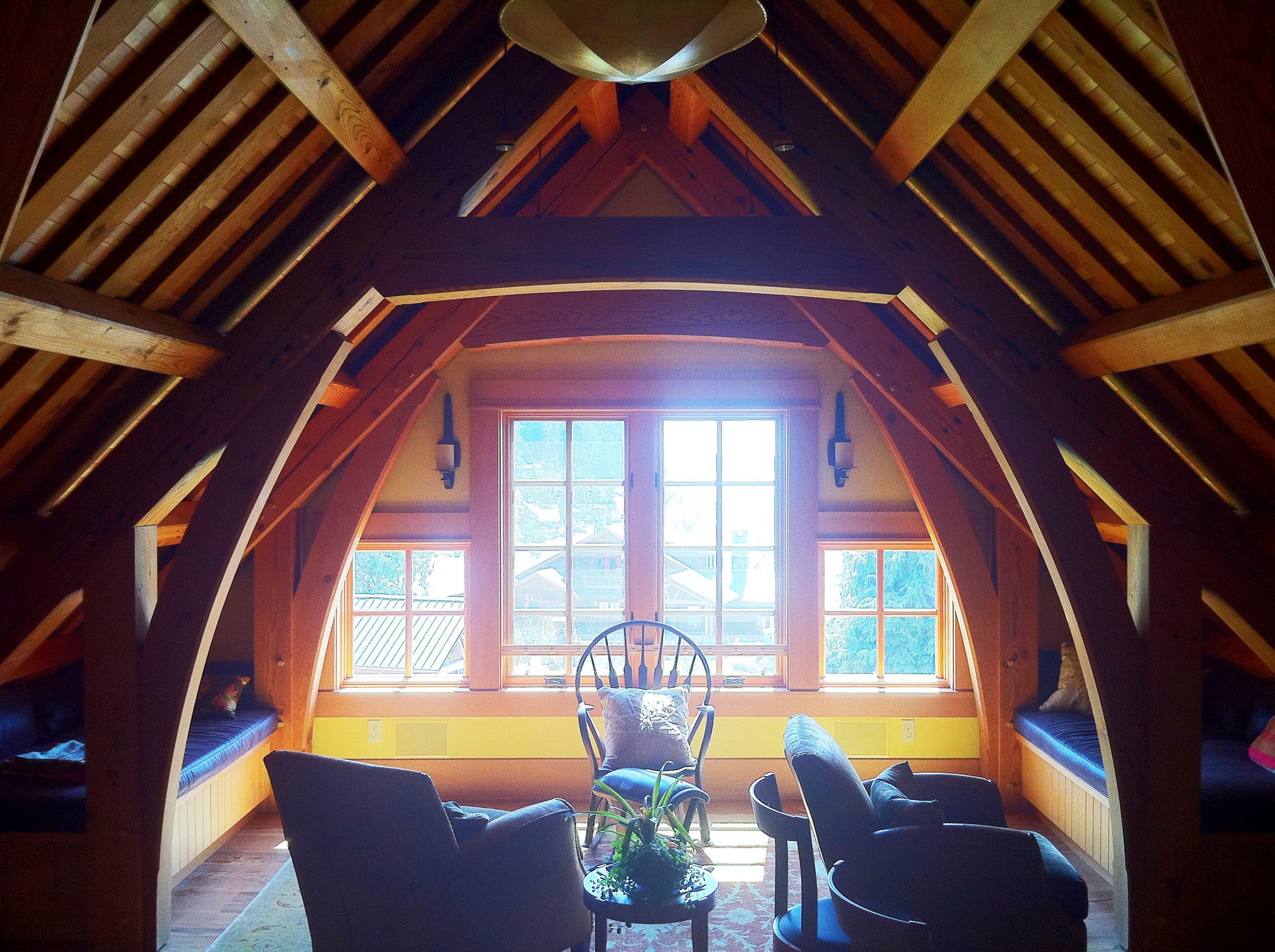 Timber frame dormer