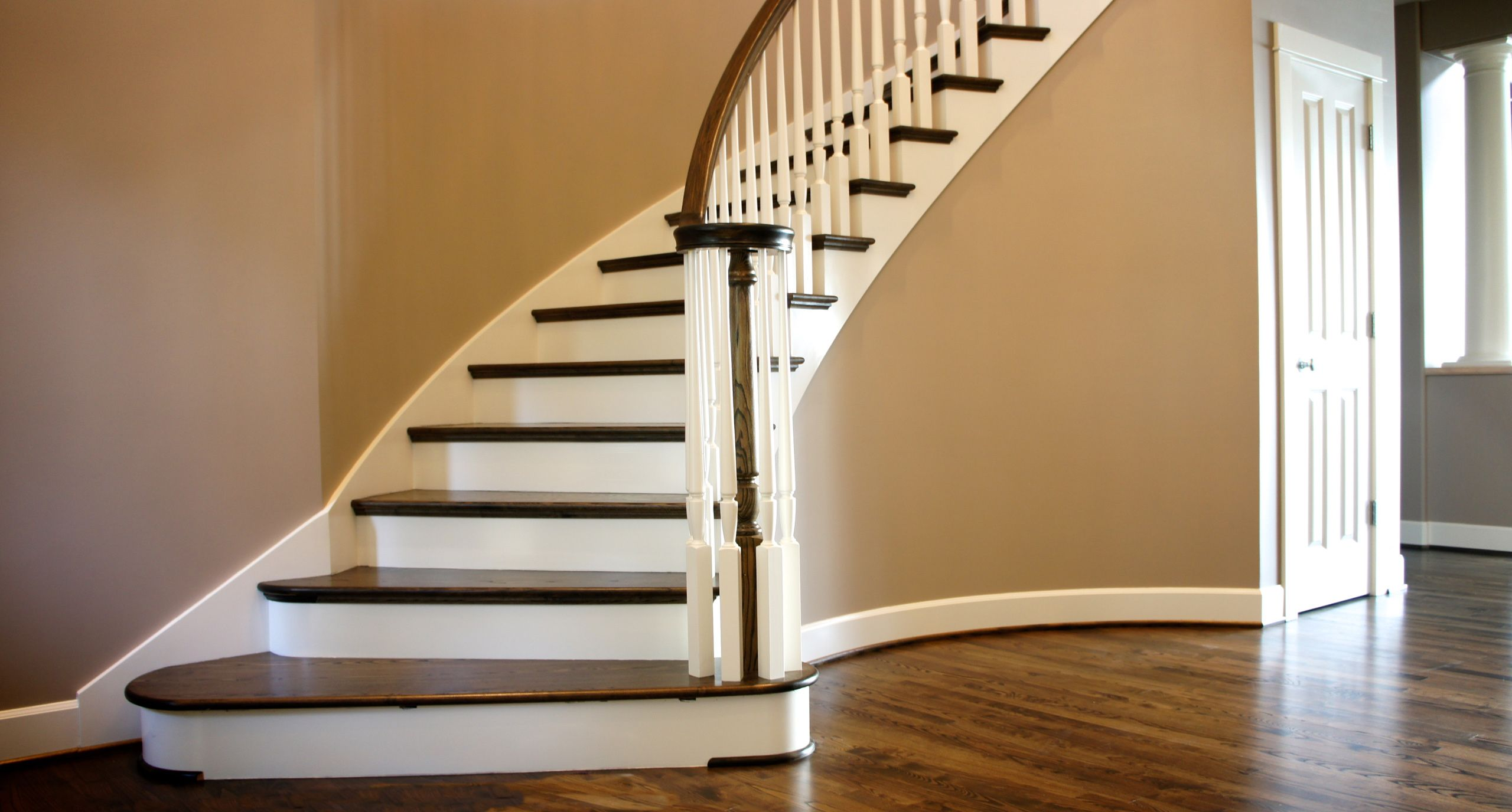 ash flooring and stairs