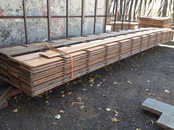 "11"" recycled fir plank flooring"