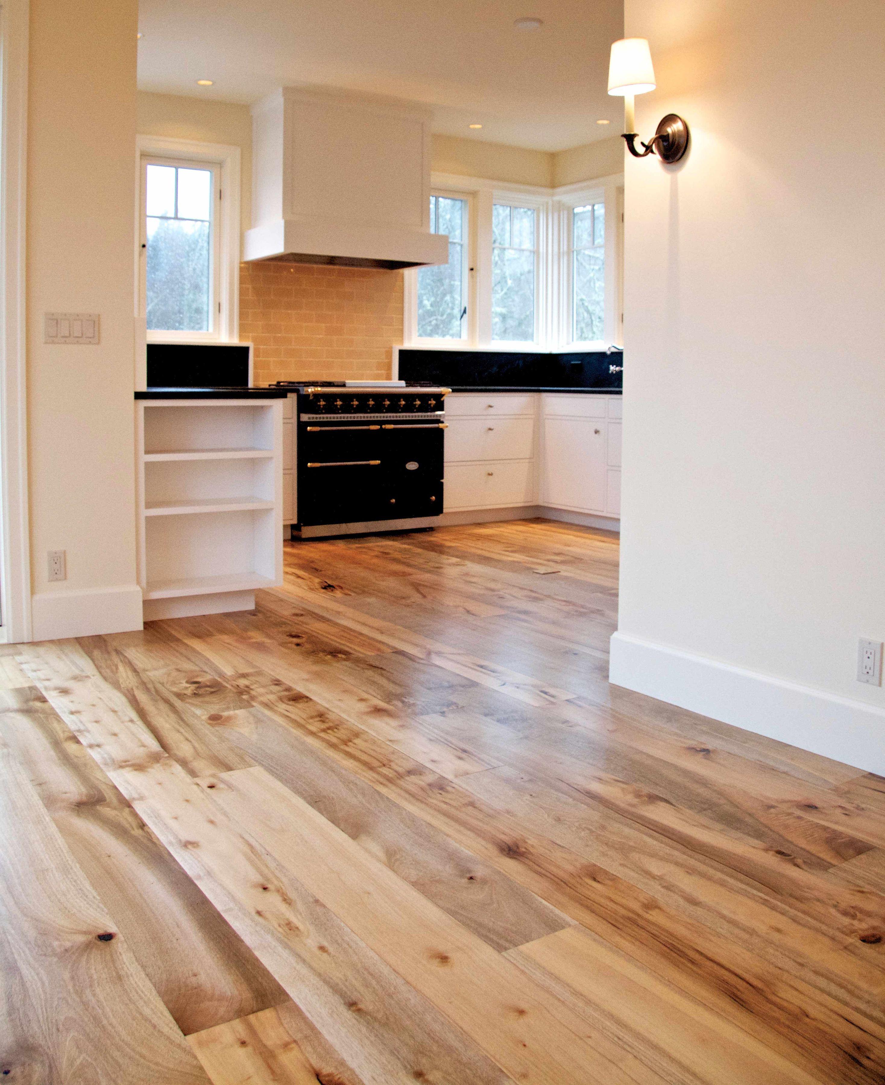 California bay laurel plank flooring