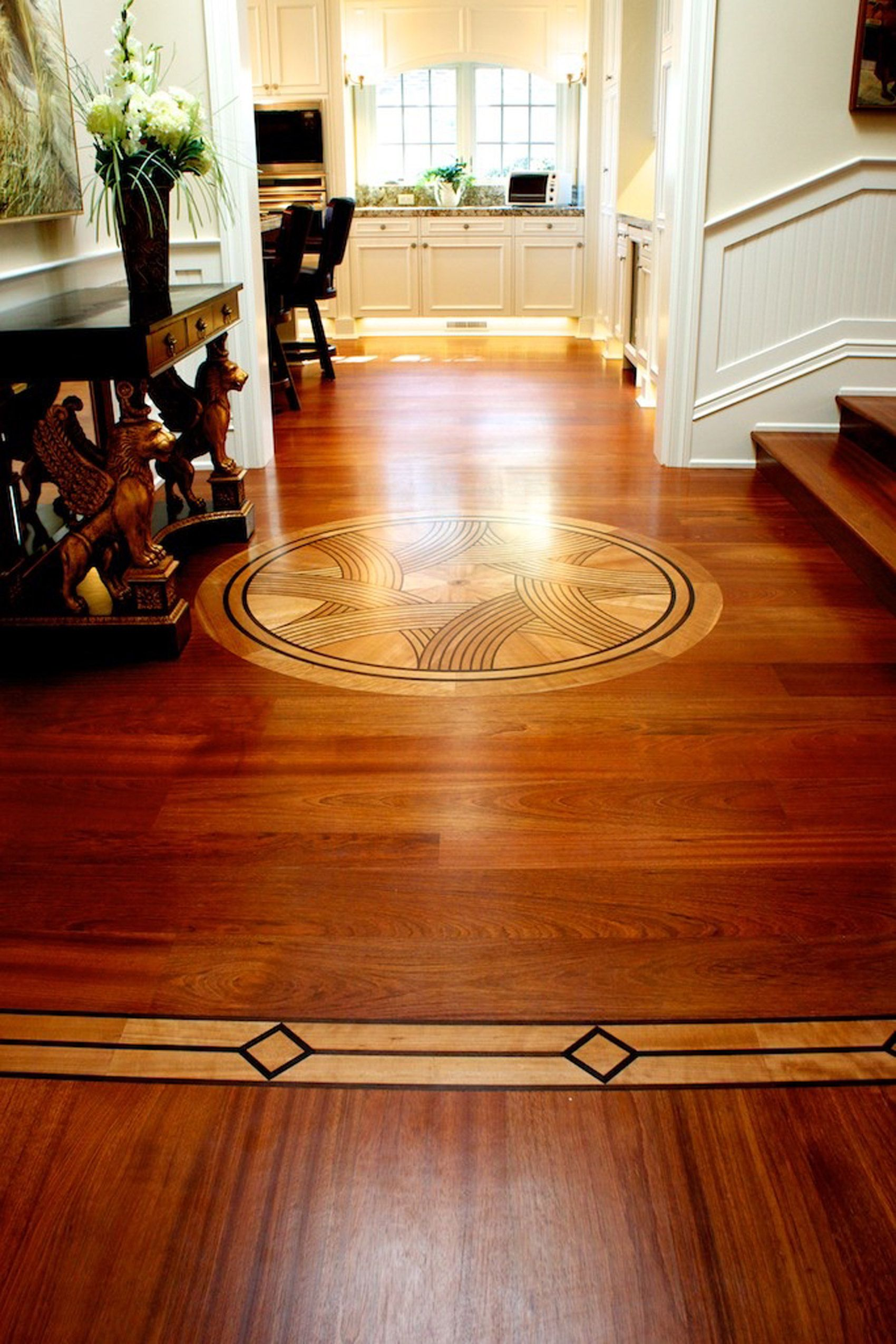 jatoba medallion