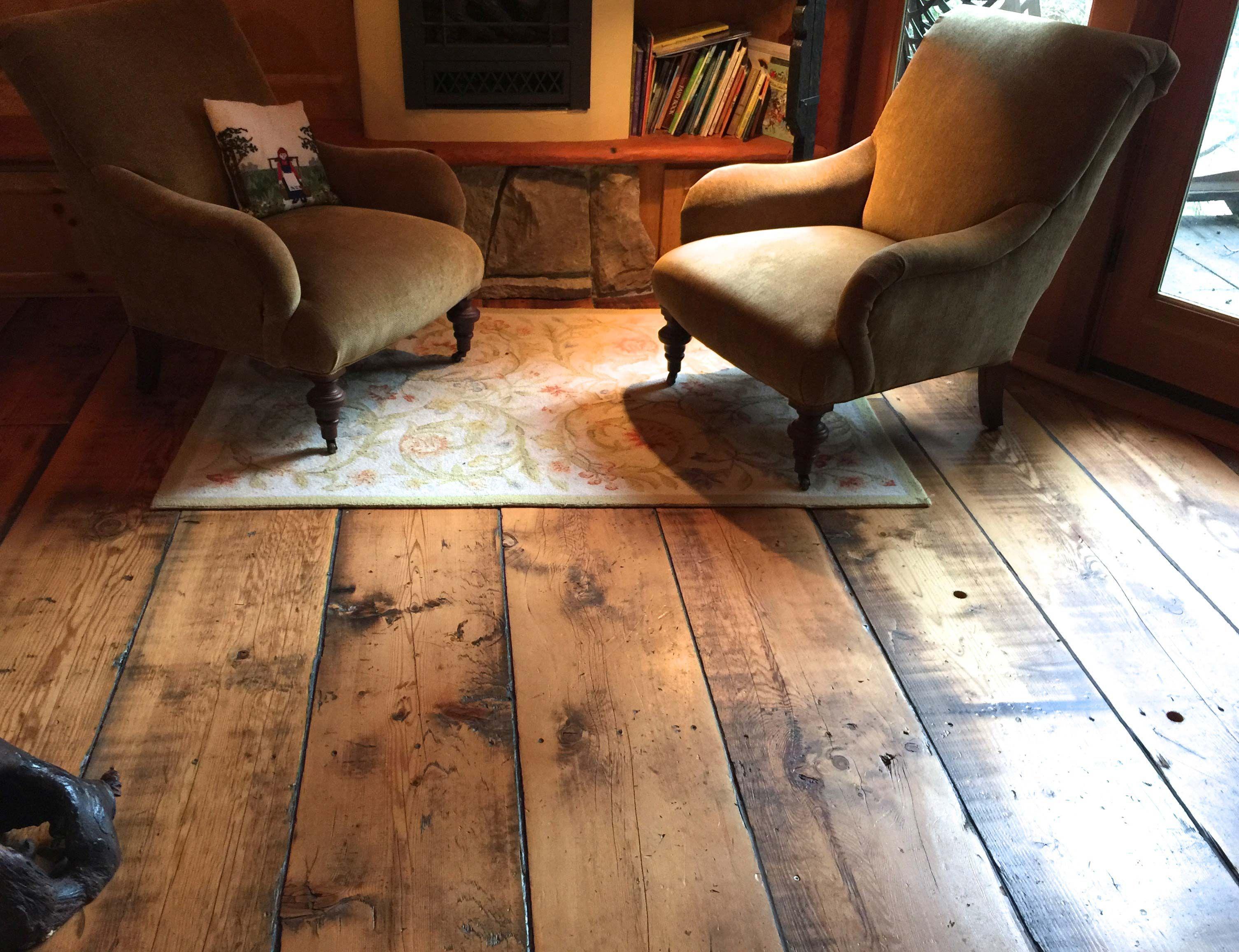Sandy Hook treehouse floor