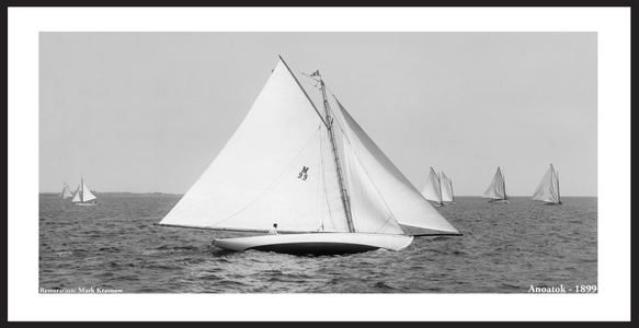 Anoatok - 1899 - Vintage Sailing Restoration Art Print