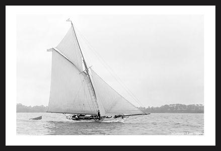 Marjorie - Late 1800's - Vintage Sailing Prints