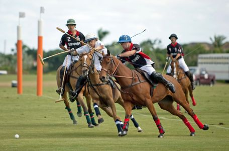 Polo match at Wellington Polo Grounds in FL
