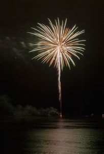 Fireworks art print for interior decoration